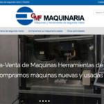 GMF Maquinaria, nueva web