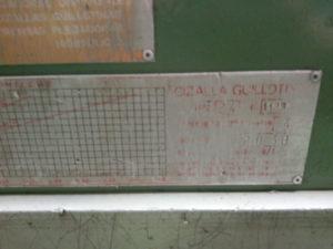 cizalla guillotina electromecanica de segunda mano