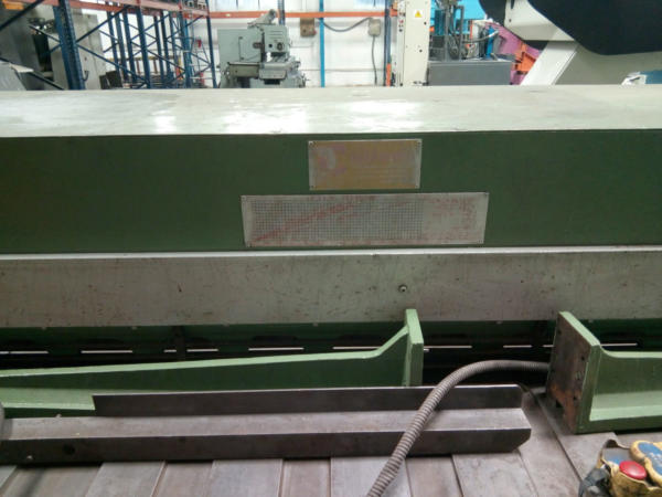 cizalla guillotina electromecanica usada