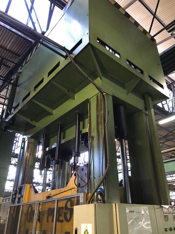 Prensa hidraulica de segunda mano doble montante onapress - Material de construccion segunda mano ...