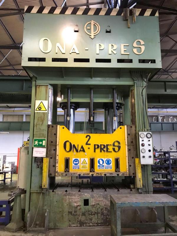 prensa hidraulica de segunda mano doble montante
