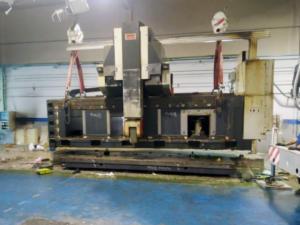 traslado maquinaria industrial pesada