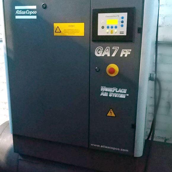 compresor de aire de tornillo usado