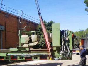 desmontaje y movimiento de maquinaria en madrid