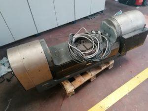 divisor de 5 ejes CNC