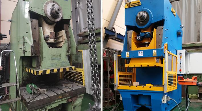 retrofitting de máquinas
