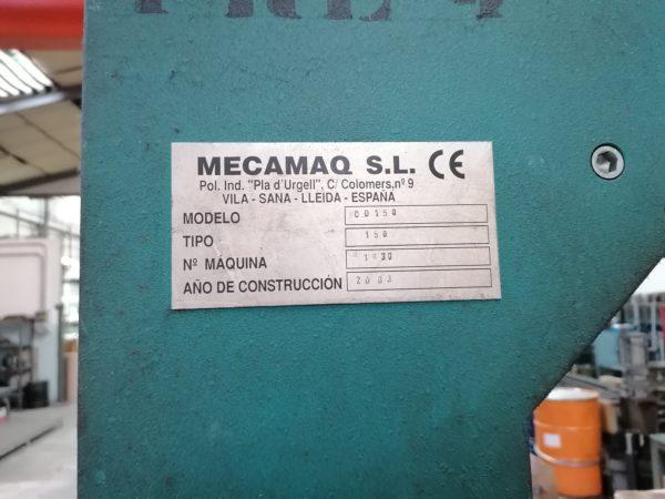 Prensa hidráulica megamaq segunda mano